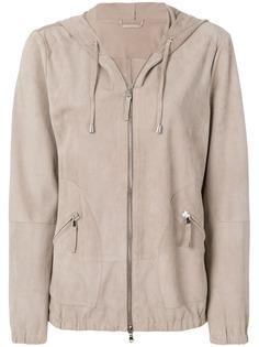 Eleventy куртка с капюшоном и застежкой на молнию