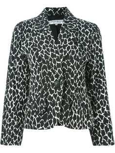 Yves Saint Laurent Pre-Owned укороченный пиджак