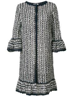 Charlott длинное вязаное пальто