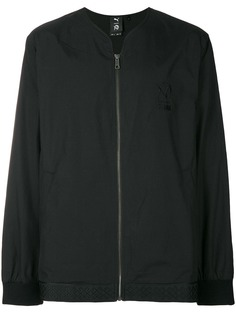 Puma куртка на молнии с логотипом