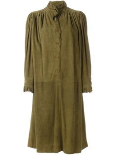 Emanuel Ungaro Pre-Owned платье с оборками