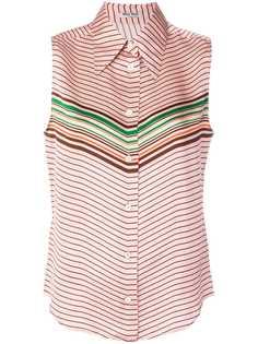 Miu Miu блузка в полоску
