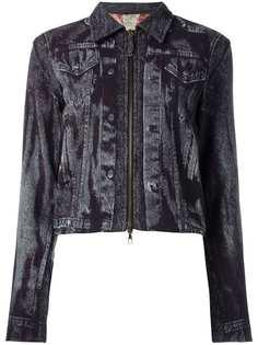 Jean Paul Gaultier Pre-Owned куртка с рисунком-обманкой