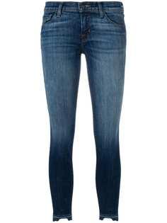 J Brand джинсы скинни с выцветшим эффектом