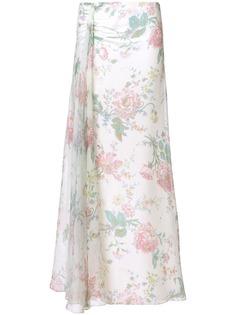 Ralph Lauren расклешенная юбка с цветочным рисунком