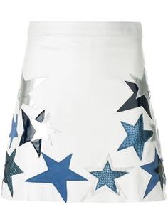 Manokhi юбка с нашивками звезд