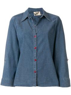 Alice+Olivia джинсовая рубашка с вышивкой