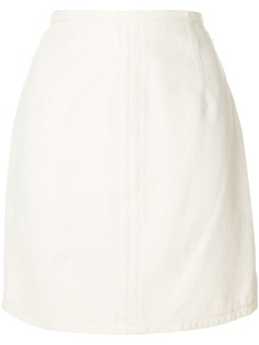 Versace Pre-Owned облегающая мини юбка