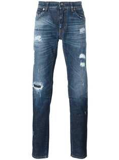 Dolce & Gabbana джинсы с рваными деталями