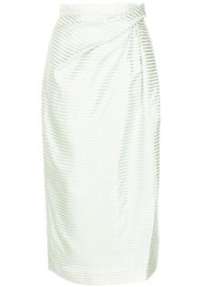 Carolina Herrera юбка-карандаш в полоску