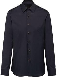 Prada эластичная поплиновая рубашка