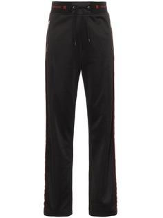 Givenchy спортивные брюки с логотипом и полосками по бокам