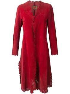 Roberta di Camerino Pre-Owned пальто с фестонами