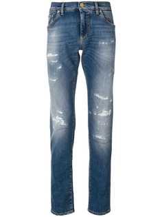 Dolce & Gabbana состаренные джинсы