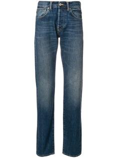 Edwin джинсы с эффектом потертости