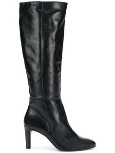 Hogl heeled knee length boots
