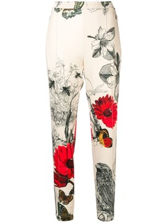 Moncler high waist track trousers