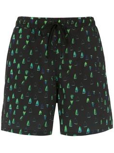 Lygia & Nanny шорты для плавания Gil с принтом