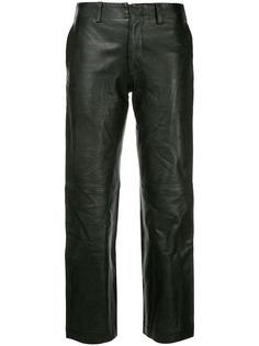 Junya Watanabe Comme des Garçons Pre-Owned укороченные брюки
