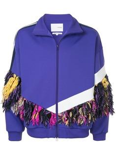 Yoshiokubo спортивная куртка с бахромой