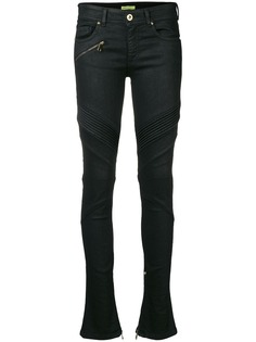 Versace Jeans байкерские джинсы скинни