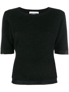 Moschino свитер с короткими рукавами