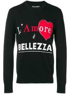 Dolce & Gabbana LAmore È Bellezza jumper
