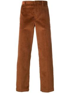 MSGM вельветовые брюки средней посадки