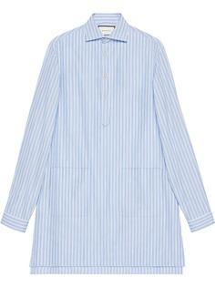 Gucci рубашка кроя оверсайз с карманами