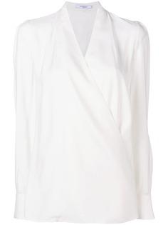 Givenchy блузка с запахом