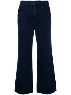J Brand укороченные джинсы клеш