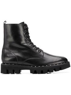 Hogl ботинки в стиле милитари на шнуровке