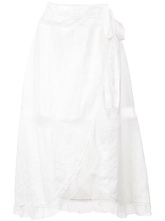 Alexa Chung юбка с запахом