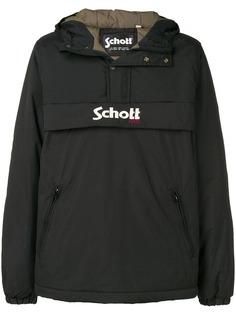 Schott легкая куртка с капюшоном