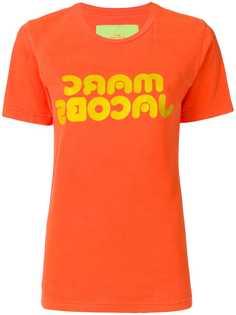 Marc Jacobs футболка с принтом логотипа
