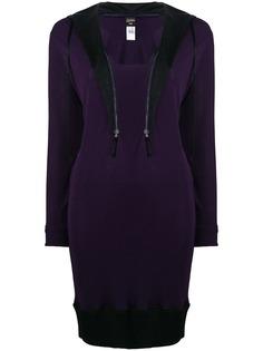 Jean Paul Gaultier Pre-Owned платье-свитер с воротом на молнии