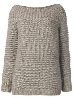 Fabiana Filippi свитер с открытыми плечами