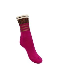 Fendi носки с логотипом