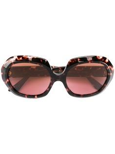 Emmanuelle Khanh солнцезащитные очки в массивной круглой оправе
