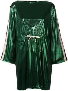 Gucci короткое платье с боковыми вставками