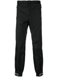 Prada спортивные брюки с заплатками