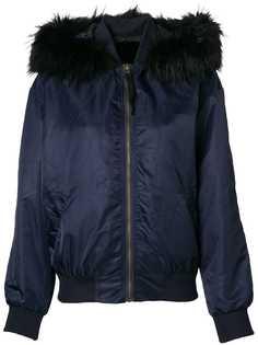 Liska куртка-бомбер с капюшоном