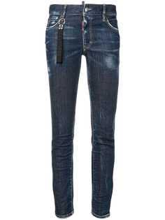 Dsquared2 зауженные джинсы-бойфренды