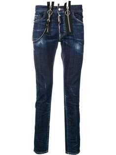 Dsquared2 джинсы скинни Skater