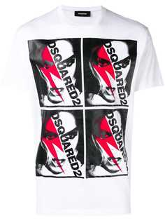 Dsquared2 футболка с графическим принтом