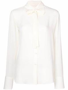 Valentino блузка с бантом