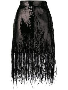 MSGM юбка с пайетками