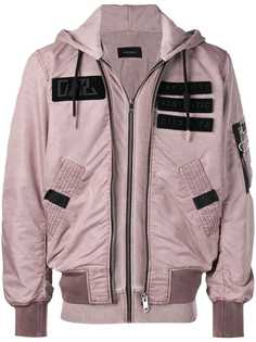 Diesel куртка с аппликацией