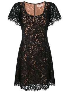 Michael Michael Kors кружевное платье с короткими рукавами