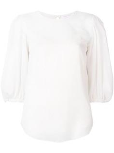 See By Chloé блузка Point Desprit с пышными рукавами
